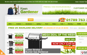 Preview 3 of the Keen Gardener website