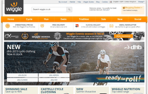 Preview 2 of the Wiggle Cycles website