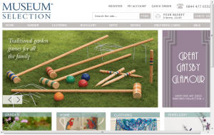 Preview 3 of the Museum Selection website