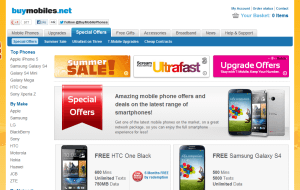 Preview 3 of the Buy Mobile Phones website
