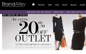 Preview 3 of the Brand Alley website