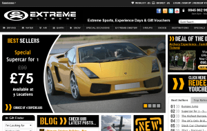 Preview 2 of the Extreme Element website