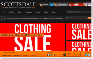 Preview 3 of the Scottsdale Golf website