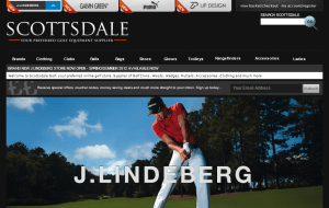 Preview 2 of the Scottsdale Golf website