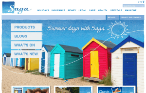Preview 5 of the Saga Holidays website