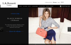 Preview 2 of the L.K. Bennett website