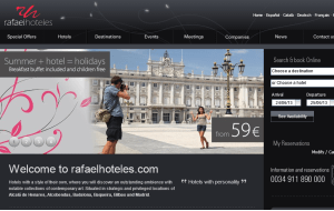 Preview 3 of the Radisson Blu Hotels & Resorts website