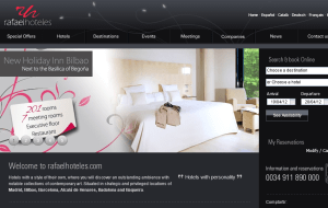 Preview 2 of the Radisson Blu Hotels & Resorts website