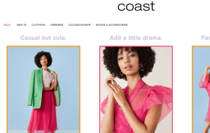 Preview 2 of the Coast website