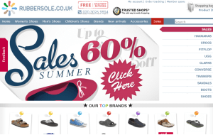Preview 3 of the Rubber Sole website