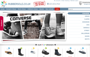 Preview 2 of the Rubber Sole website