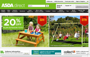 Preview 3 of the ASDA Direct website