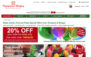 Preview 4 of the Thompson & Morgan website
