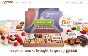 Preview 2 of the Graze website