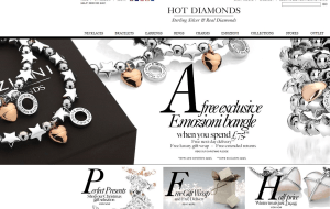 Preview 3 of the Hot Diamonds website