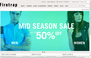 Preview 2 of the Firetrap website
