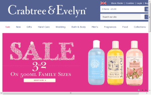 Preview 3 of the Crabtree & Evelyn website