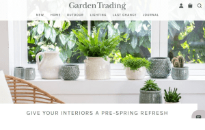 Preview 2 of the Garden Trading website