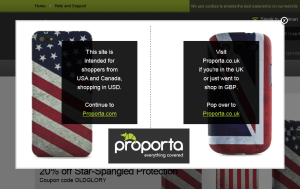 Preview 3 of the Proporta website