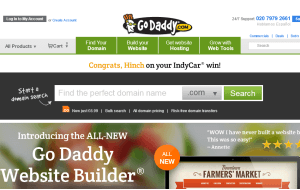 Preview 3 of the GoDaddy website
