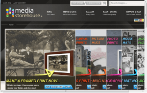 Preview 3 of the Media Storehouse website