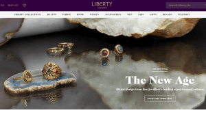 Preview 2 of the Liberty website