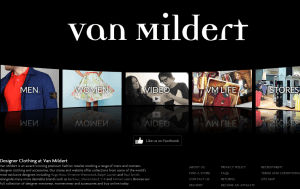 Preview 3 of the Van Mildert website
