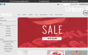 Preview 2 of the Urban Excess website