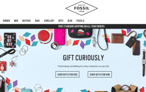 Preview 2 of the Fossil website