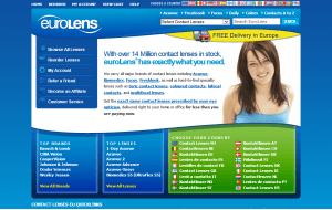 Preview 2 of the Eurolens website