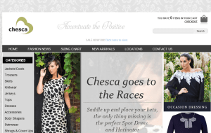 Preview 2 of the Chesca website
