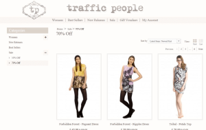 Preview 3 of the Traffic People website