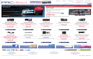 Preview 2 of the PRC Direct website