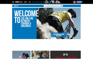 Preview 3 of the Dare2b website