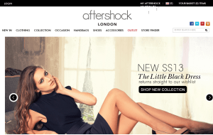 Preview 3 of the Aftershock website