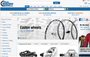 Preview 3 of the Chain Reaction Cycles website