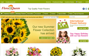 Preview 3 of the FloraQueen website