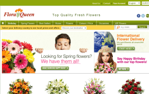 Preview 2 of the FloraQueen website