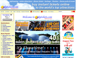 Preview 2 of the 365 Tickets website