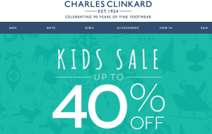 Preview 2 of the Charles Clinkard website