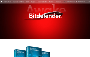 Preview 2 of the Bit Defender website