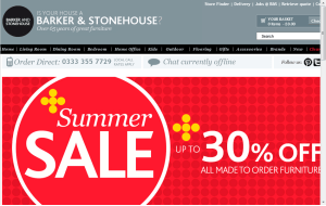 Preview 3 of the Barker and Stonehouse website