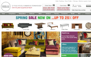 Preview 2 of the Barker and Stonehouse website