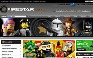 Preview 3 of the FireStar Toys website