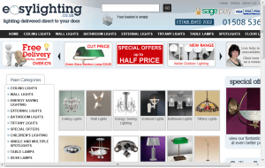 Preview 3 of the Easy Lighting website