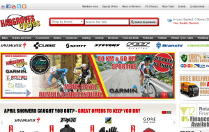 Preview 2 of the Hargroves Cycles website