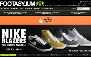 Preview 2 of the Footasylum website