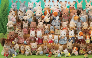 Preview 2 of the Sylvanian Families website