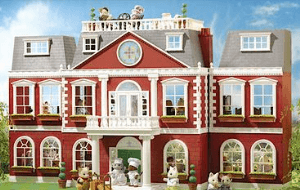 Preview 3 of the Sylvanian Families website