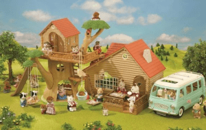 Preview 4 of the Sylvanian Families website
